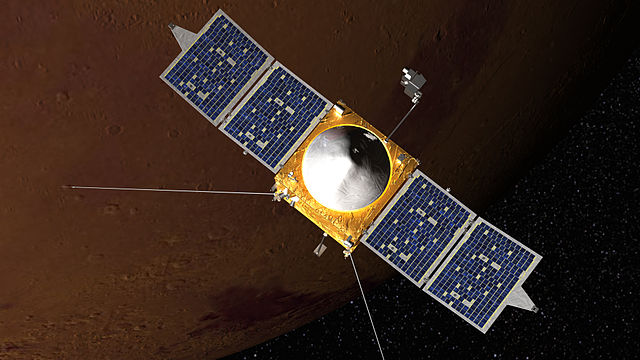 MAVEN is set to launch later this year.  If it doesn't, we'll have to wait two years to try again.  (Image credit: NASA)