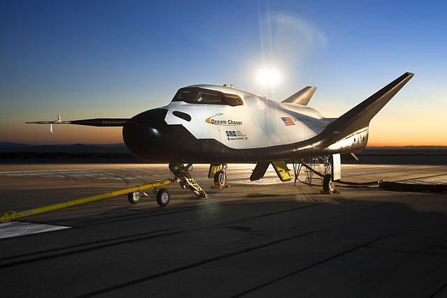 The Dream Chaser will land on a runway just like the Space Shuttle.  (Image credit: NASA)
