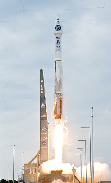 MAVEN will ride a United Launch Alliance Atlas V rocket. (Image credit: NASA)