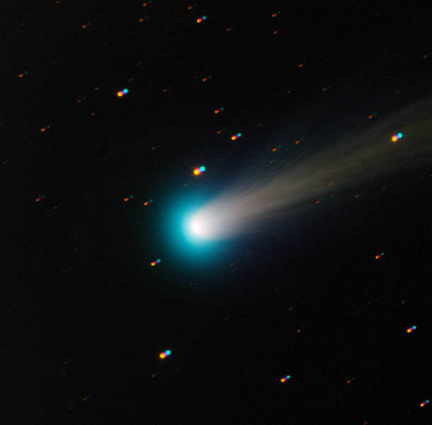 Comet ISON will make its closest approach to the Sun on Thanksgiving.  (Image credit: ESO)