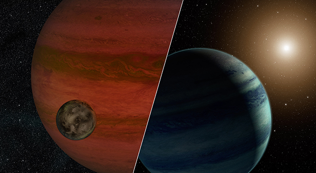 Which of these scenarios is correct?  We'll probably never know... (Image credit: NASA/JPL-Caltech)