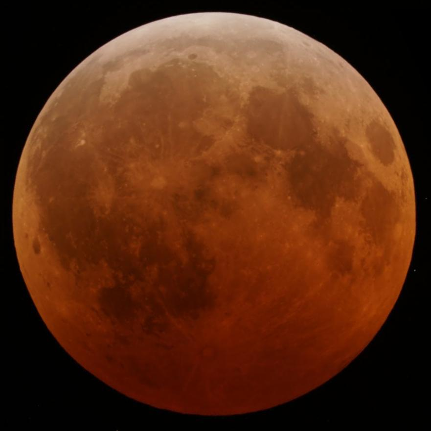 The December 2010 lunar eclipse.  (Image credit: GFDL)