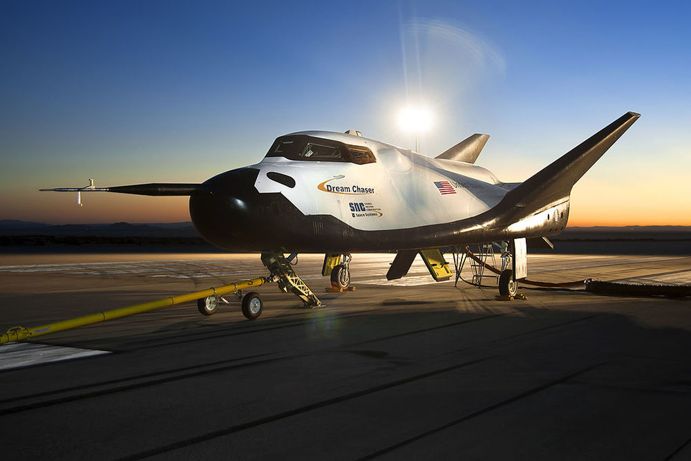 The full size Dream Chaser.  (Image credit: NASA)