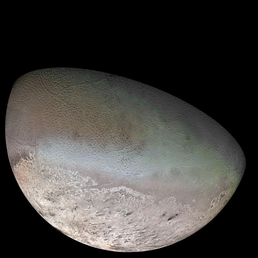 Neptune's moon Triton may resemble Pluto. (Image credit: NASA)