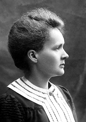 Marie Curie 1903 (Image Credit: Nobel Foundation)