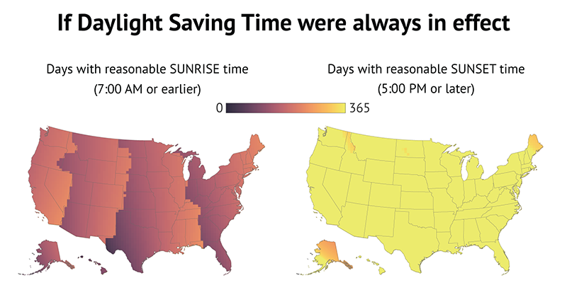 Is Daylight Savings Time Really Saving Us A Headache Cosmic Chatter - Us daylight savings map