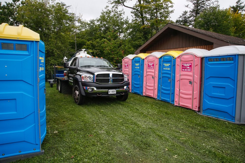 PINK for PATIENTS - PINK for PATIENTS Campaign -  When you rent a Pink Portable Toilet a percentage of the proceeds will be donated to the cancer diagnostic and care programs at our Huntsville District Memorial Hospital.  This is a wonderful way to honour and or remember loved ones affected by cancer when having an outdoor celebratory event or family function.