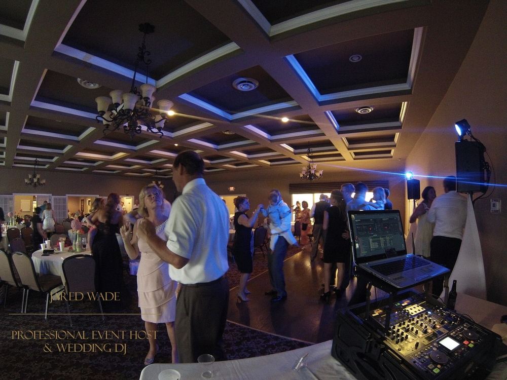 Jared Wade Professional Event Host | Wedding DJ | Indianapolis Indiana | Dyes Walk Country Club Wedding | Pinterest Wedding