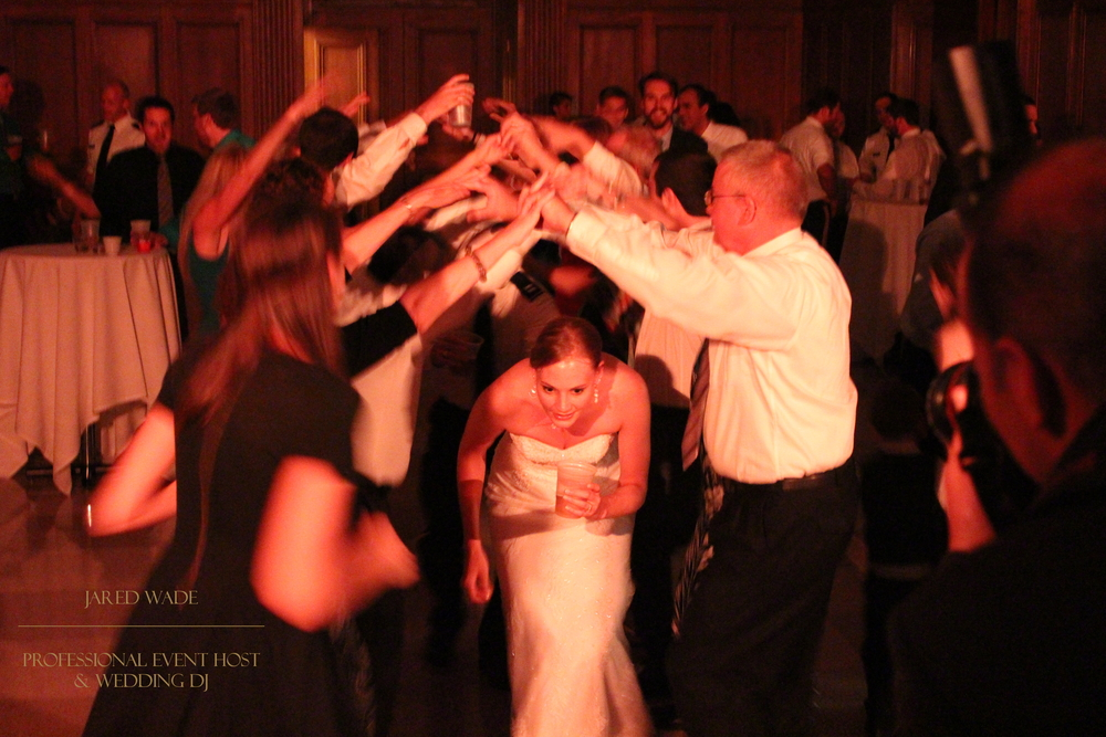 Jared Wade Professional Event Host | Indianapolis Wedding DJ | Indiana Wedding | Indiana War Memorial | Wedding Reception