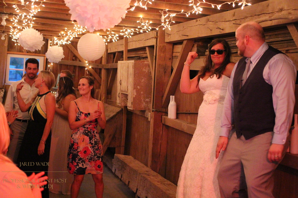Jared Wade Professional Event Host | Indianapolis Wedding DJ | Indiana Barn Wedding | Dulls Tree Farm