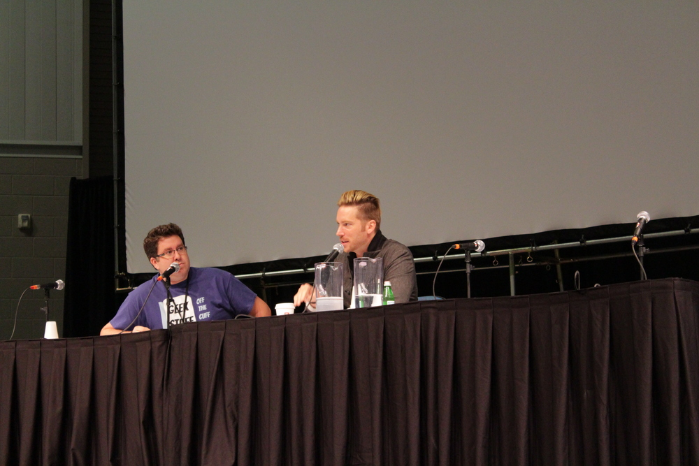 Jared with Troy Baker at Indy Pop Con 2015