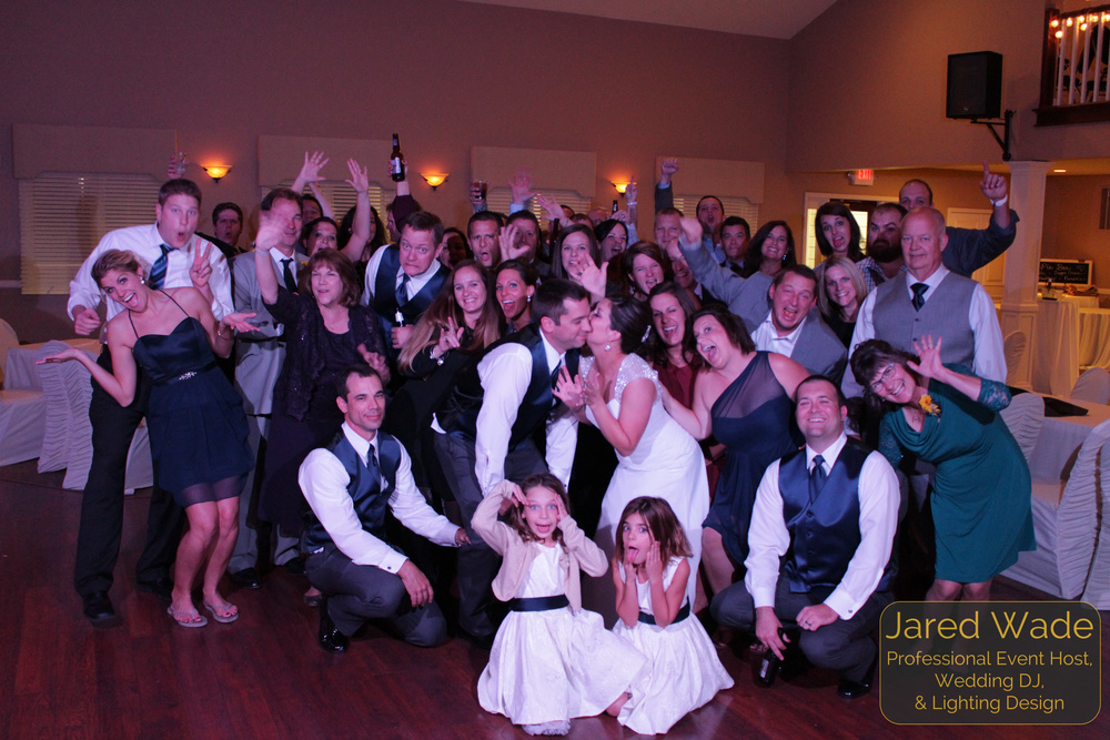 #ProfessionalEventHost #EndOfNightShot Indianapolis Wedding DJ Jared Wade