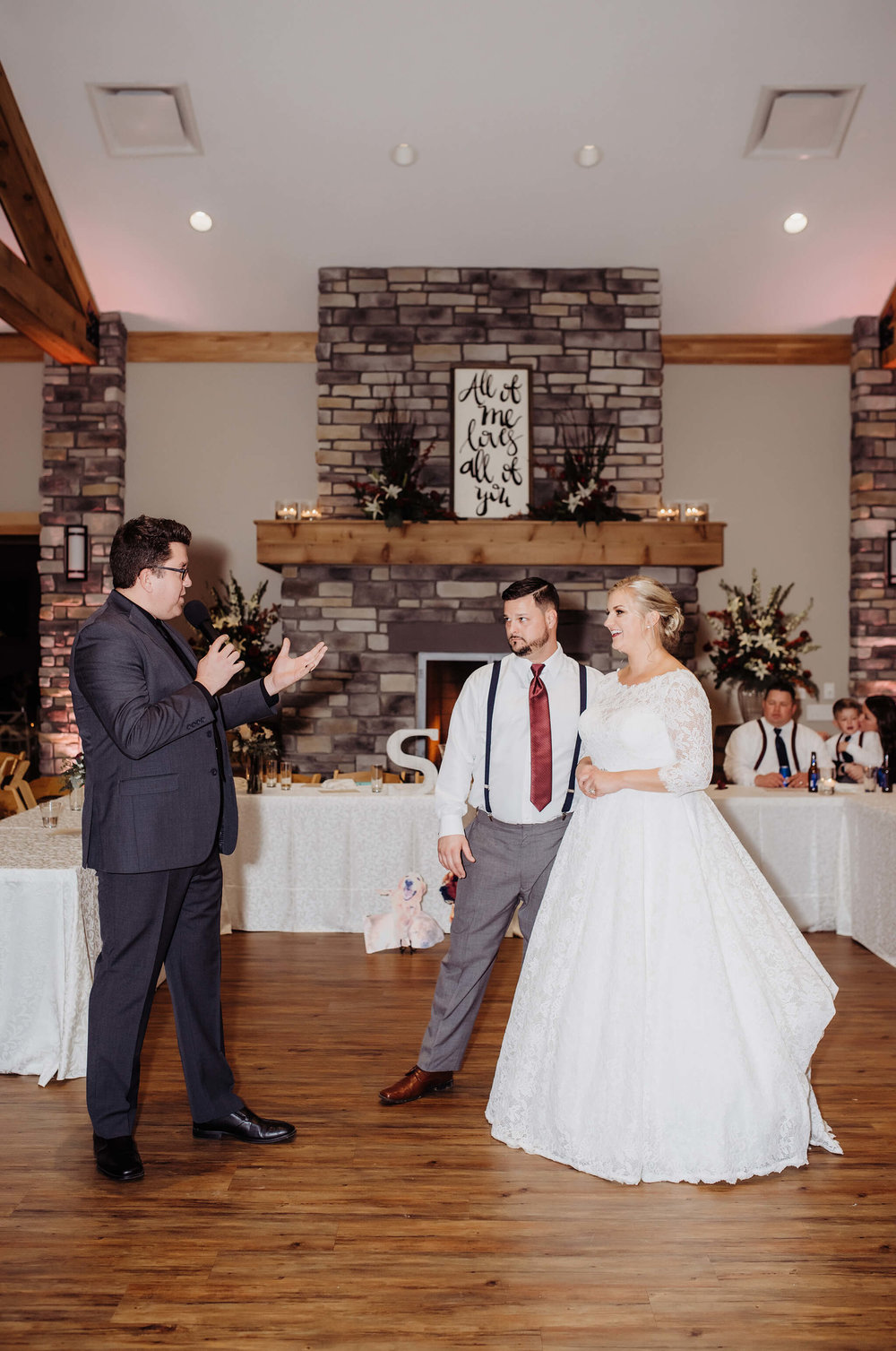 Fluid transitions between elements at a wedding are KEY