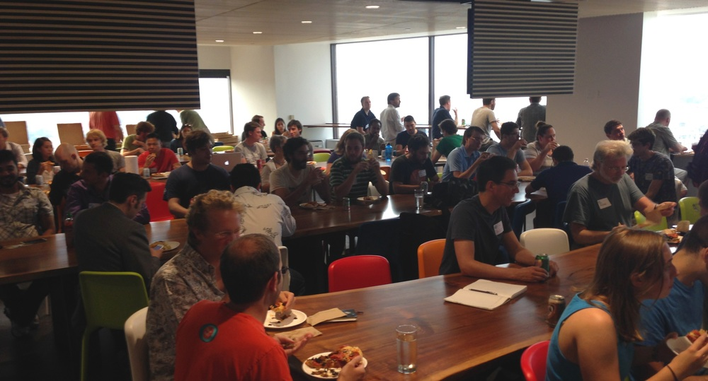 The FutureTalk crowd at New Relic