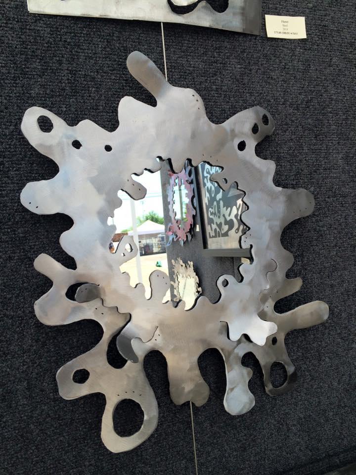Mirror, Steel, 2015