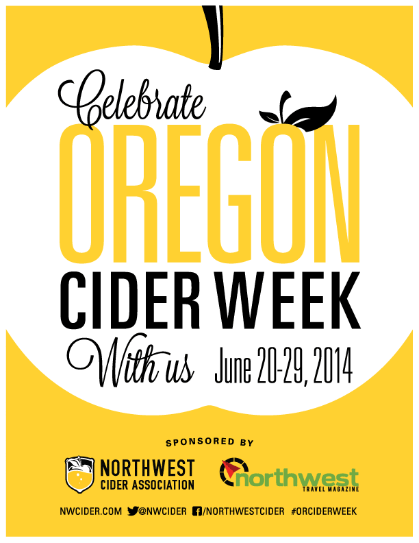 "Oregon Cider Week Poster 8.5""x11"""