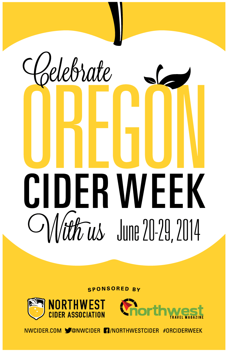 "Oregon Cider Week Poster 11""x17"""