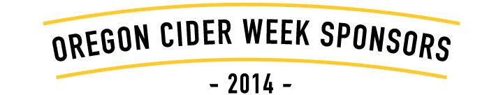 Oregon Cider Week Sponsors