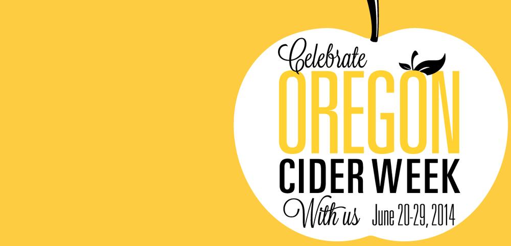2014 Oregon Cider Week Event Line Up