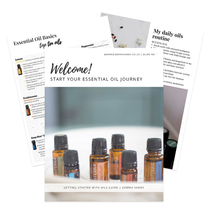 Free Toolkit! - Find out how Essential Oils can support your whole wellness & grab my free guide + video workshops now!