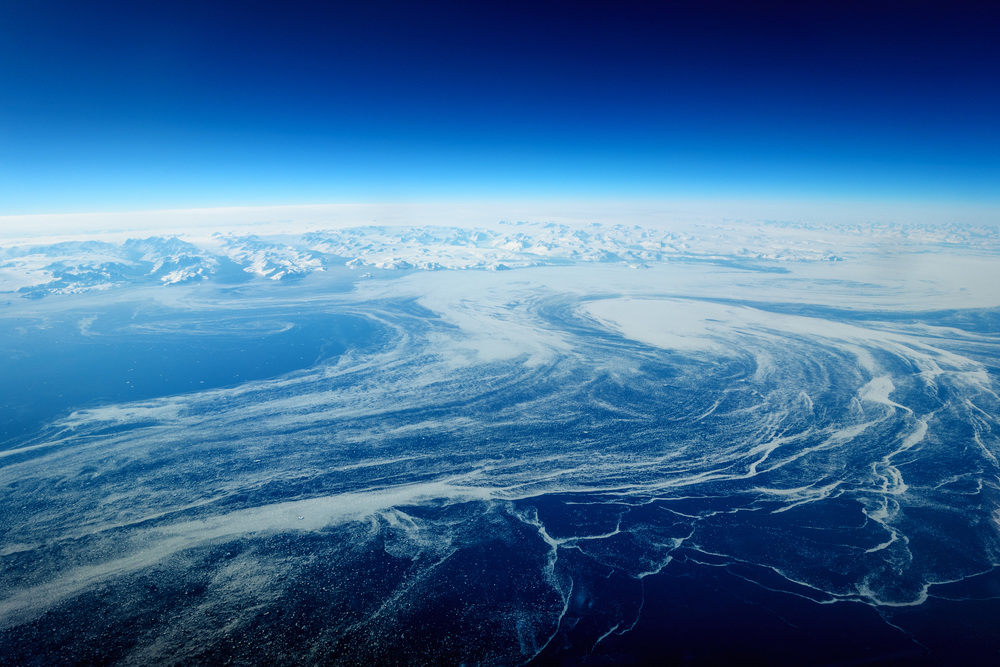 Ice Flows of Greenland