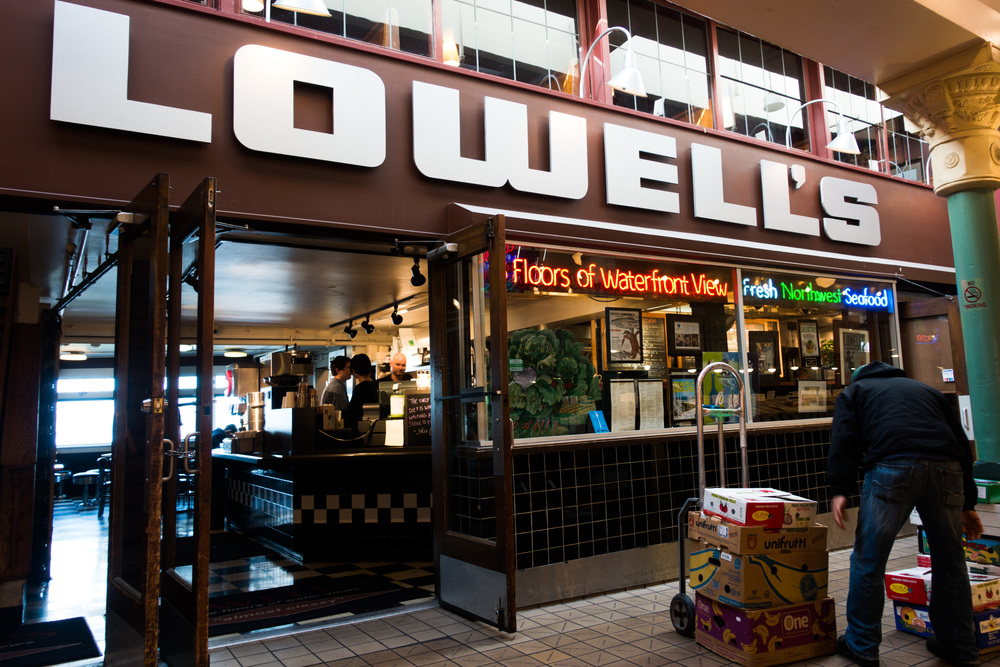 Lowell's Restaurant, Pike Place, Seattle