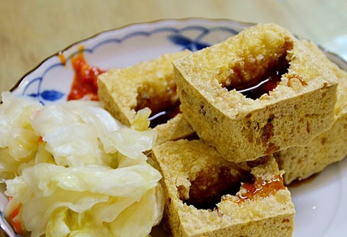 "Above: Stinky Tofu, not ""Curd-Turd"""