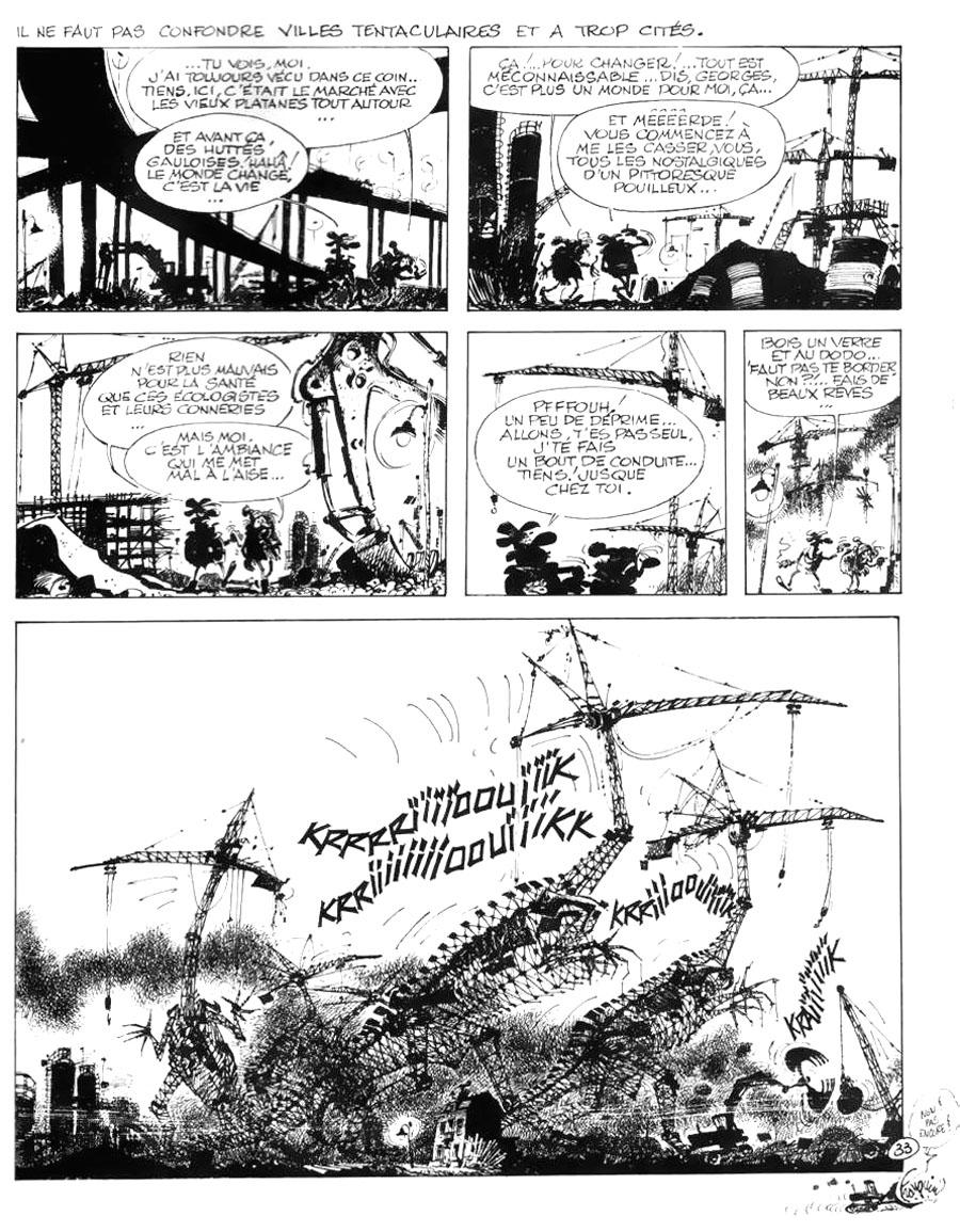 """Franquin """"Idées noires"""""""
