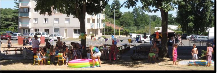 Fête du quartier le 31/07/2013 (source: site de la ville)