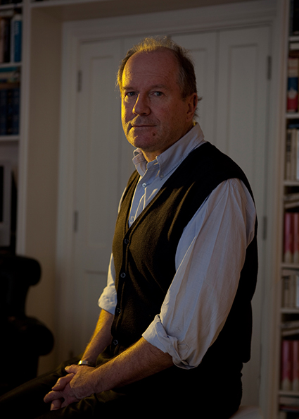 William Boyd at home by David Woolfall