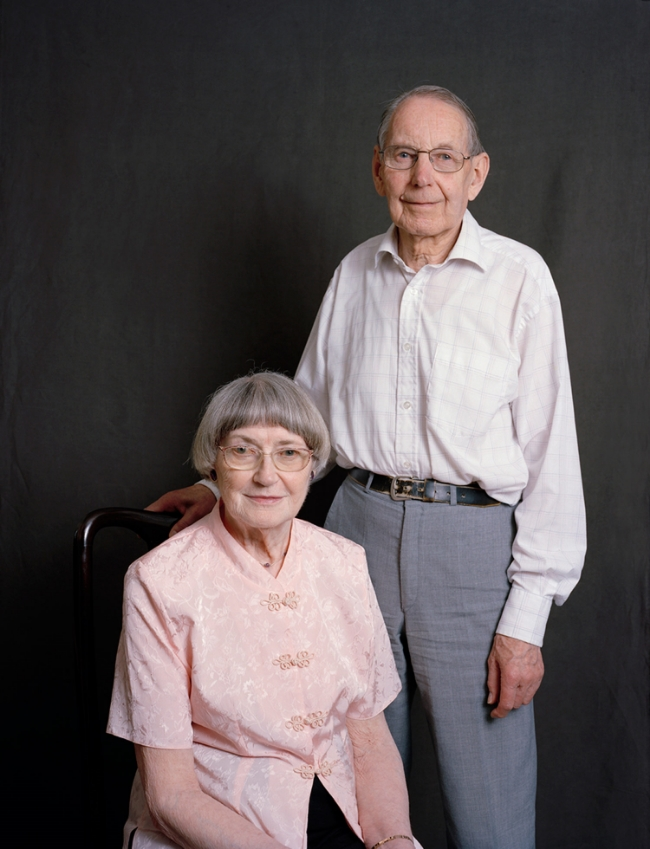 Dorothy and John Parlett - 100m silver medallist and 800m finalist