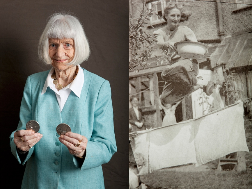 Dorothy Tyler, High Jump Silver medal