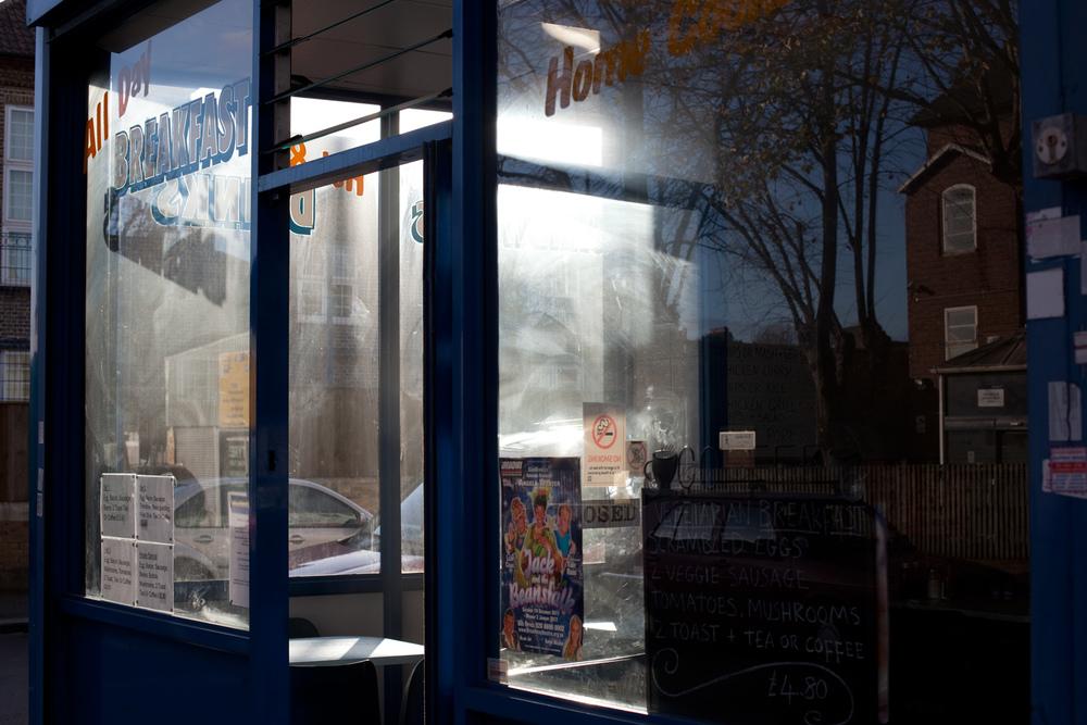 Cafe, Brockley Rise, London