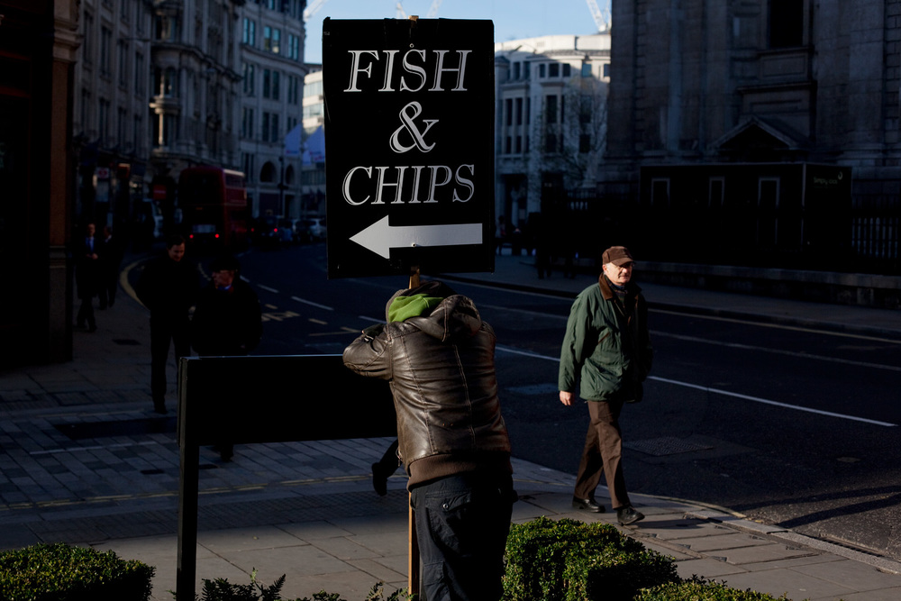 Fish 'n' Chips, St Pauls, London