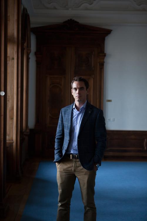 Edouard Meylan- CEO of H. Moser & Cie