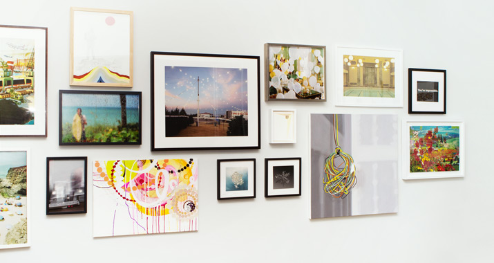 A sampling of art sold at 20x200