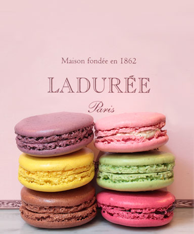 The Ladurée macaron comes in 15 different flavors with pistachio, vanilla and rose petal being their most popular.
