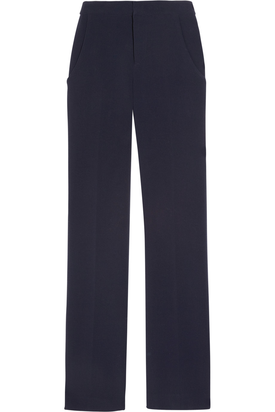 marni stretch wool-blend crepe flared pants.jpg