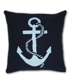 Needlepoint Anchor Pillow
