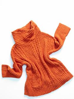 Drop Shoulder Cowl Sweater