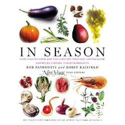 An entire cookbook based on the weekly column in New York Magazine. Over 140 seasonal recipes from the finest chefs and restaurants around the country. YUM.