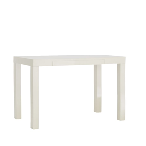 White Parsons Desk from West Elm.