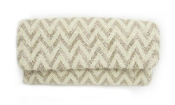 The Chevron Beaded Clutch is one of many cute new clutches at Tuckernuck.
