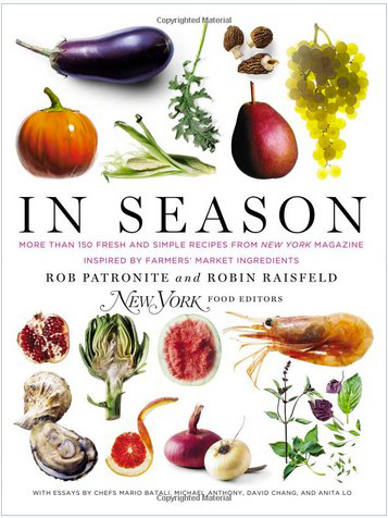 The perfect cook book for the the in-season shopper. Based on the New York Magazine column that celebrates fresh, local ingredients.