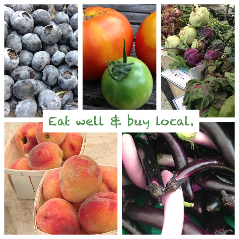 Fresh picks from the New Canaan Farmer's Market.