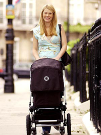 The obligatory empty stroller walk. Via people.com
