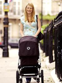 The obligatory empty stroller walk. Via people.com
