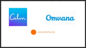 Best selling apps like Calm, Omvana and HEADSPACE make meditation more convenient and accessible.