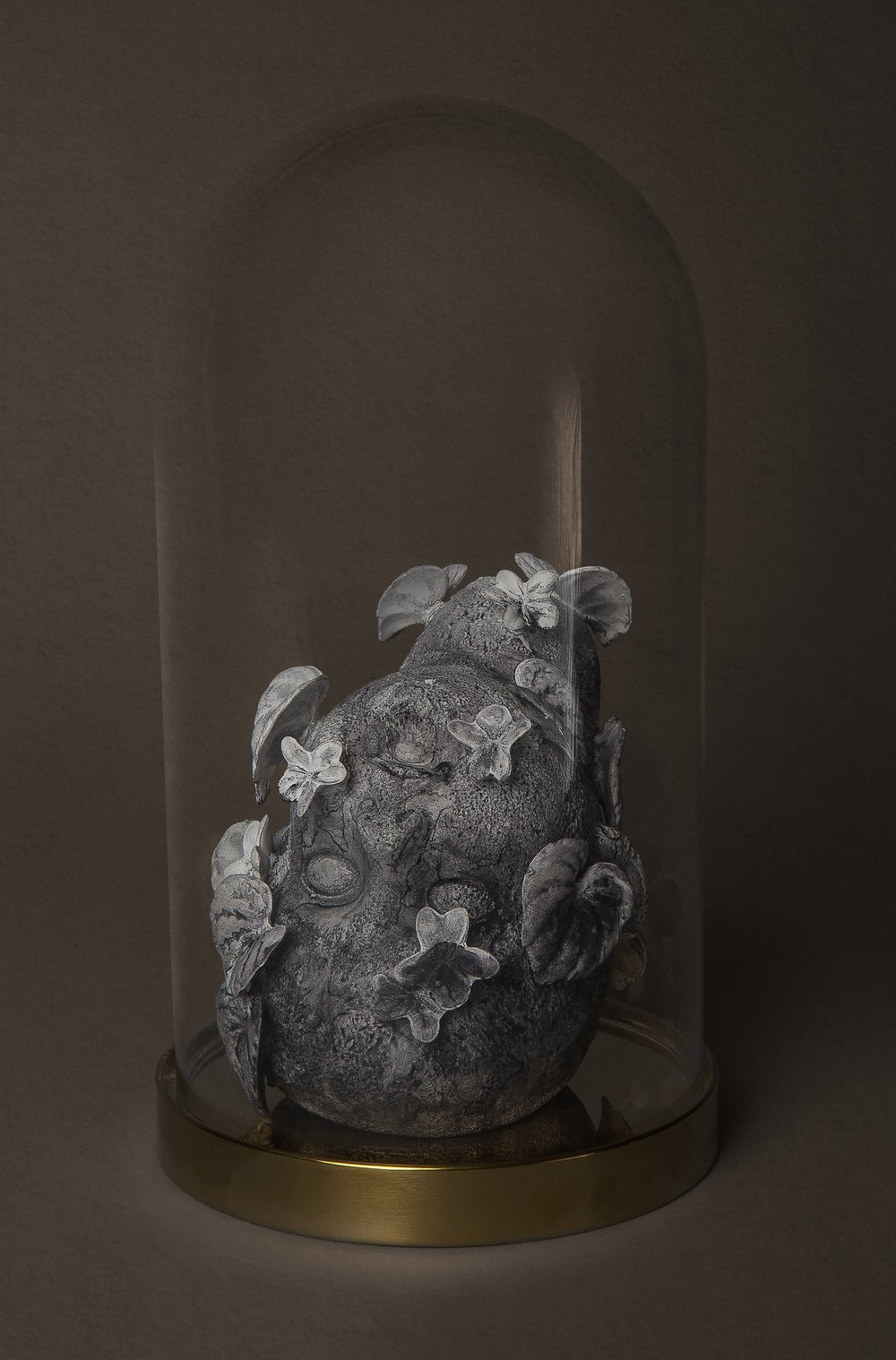 Death of a Nation, Time as lovers and faithful sinners  Medium: Porcelain ceramic with cast altered forms and hand built  Year: 2019  Photography by: David Gary Lloyd