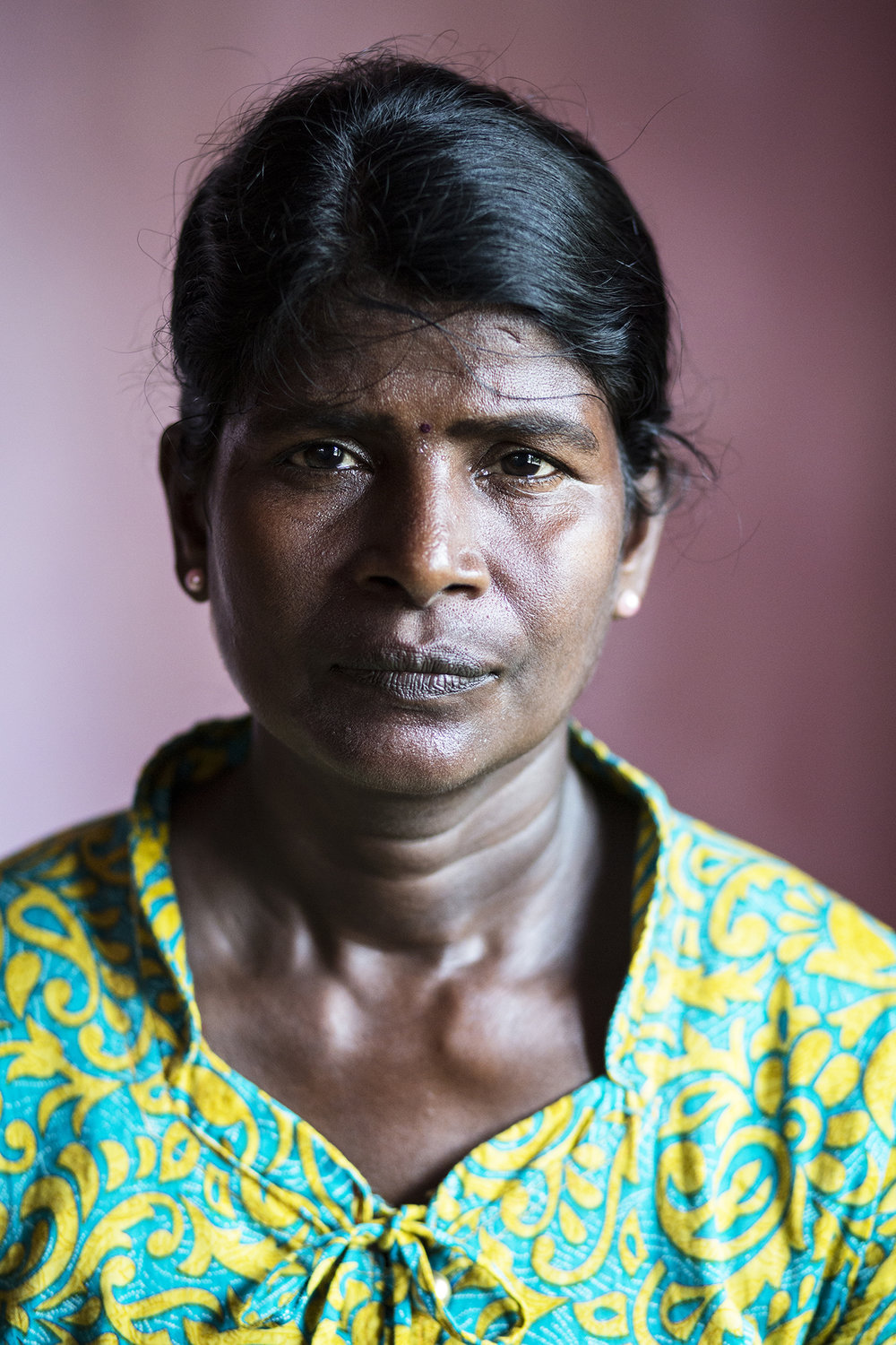 Iruthayarani fears the presence of the Sri Lankan army, and recounts experiences of soldiers following her in daylight and threatening her and her son.  There are tens of thousands of women who have been widowed by the war, making them more vulnerable to abuse from the military.